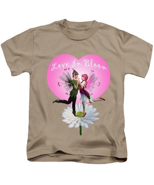 Love In Bloom Kids T-Shirt