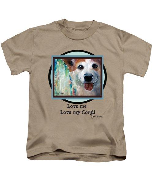 Love Me Love My Corgi Kids T-Shirt