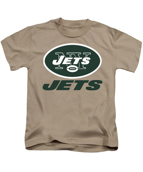 New York Jets Translucent Steel Kids T-Shirt