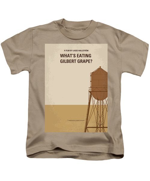 No795 My Whats Eating Gilbert Grape Minimal Movie Poster Kids T-Shirt