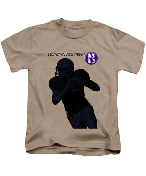 Northwestern Football Kids T-Shirt