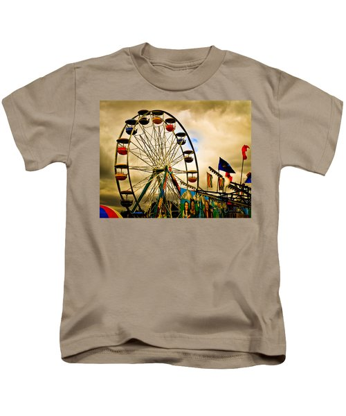Patch Of Blue Kids T-Shirt