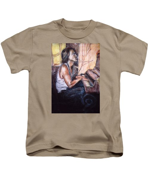 Piano Man Kids T-Shirt