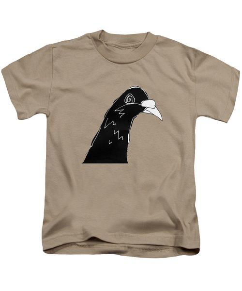 Pigeon Kids T-Shirt by Matt Mawson