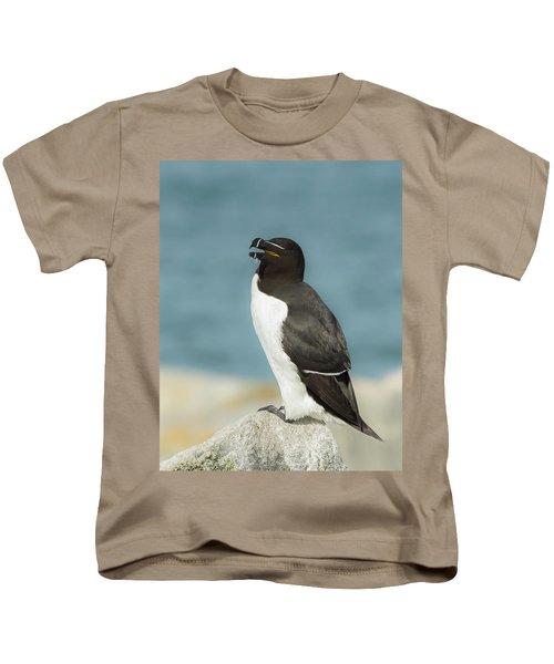 Razorbill Portrait Kids T-Shirt