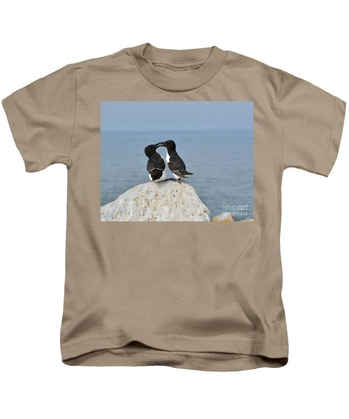 Razorbills In Love Kids T-Shirt