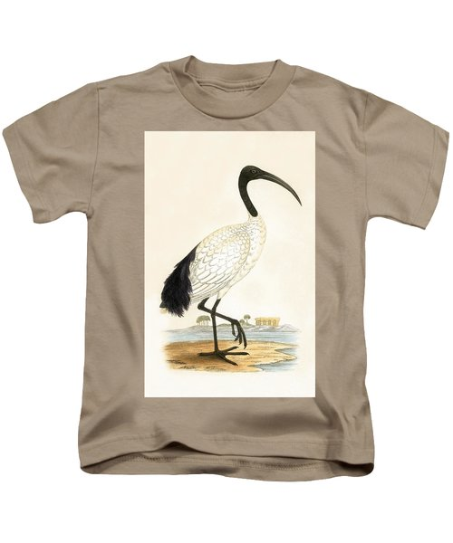 Sacred Ibis Kids T-Shirt by English School