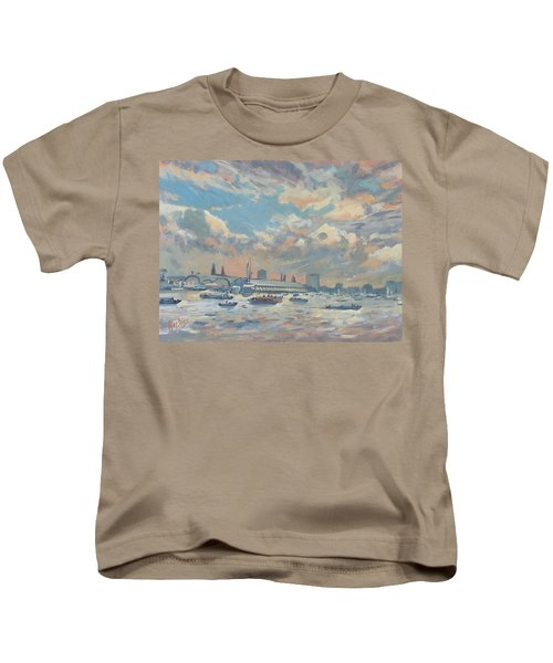 Sail Regatta On The Ij Kids T-Shirt