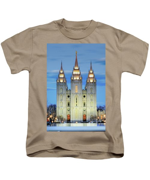 Slc Temple Blue Kids T-Shirt
