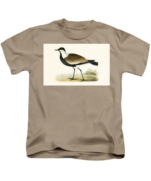 Spur Winged Plover Kids T-Shirt by English School