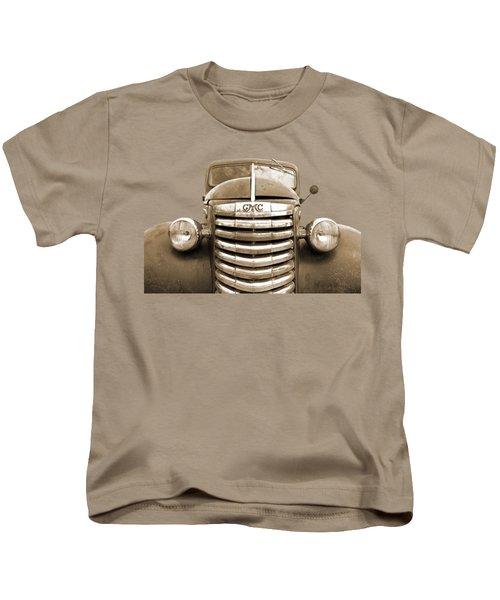 Still Going Strong - Sepia Kids T-Shirt