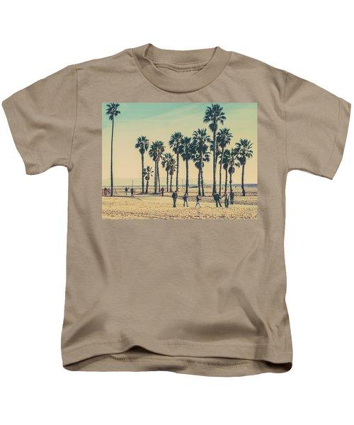 Stroll Down Venice Beach Kids T-Shirt