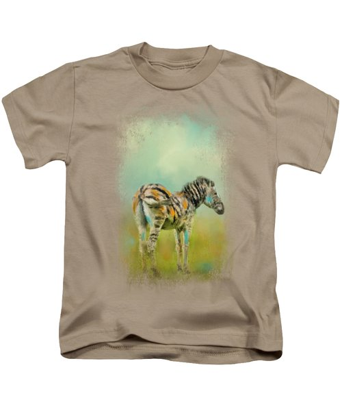 Summer Zebra 1 Kids T-Shirt
