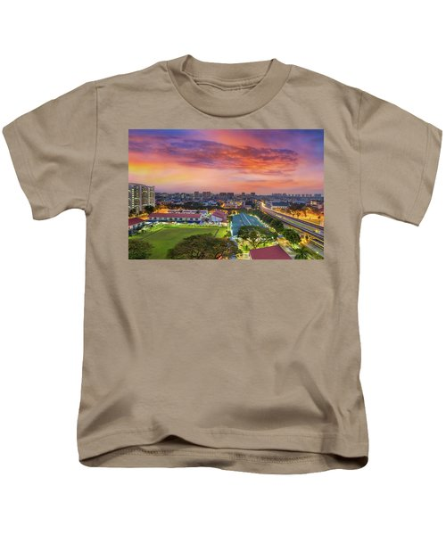 Sunrise By Mrt Station In Eunos Singapore Kids T-Shirt