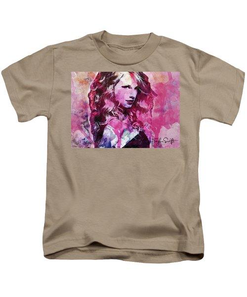 Taylor Swift - Oncore Kids T-Shirt by Sir Josef - Social Critic - ART