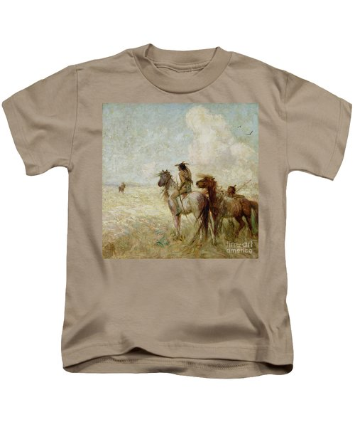 The Bison Hunters Kids T-Shirt
