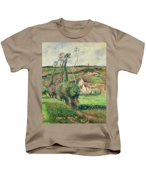 The Cabbage Slopes Kids T-Shirt by Camille Pissarro
