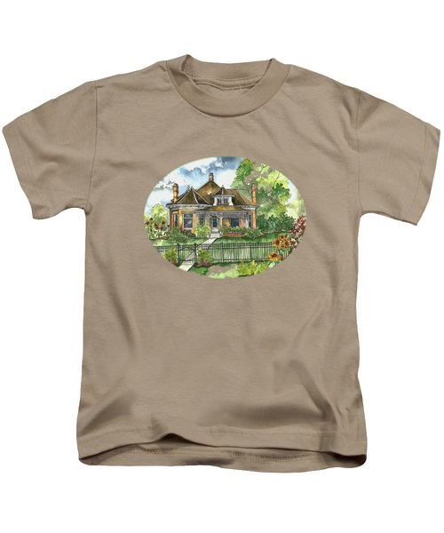 The House On Spring Lane Kids T-Shirt