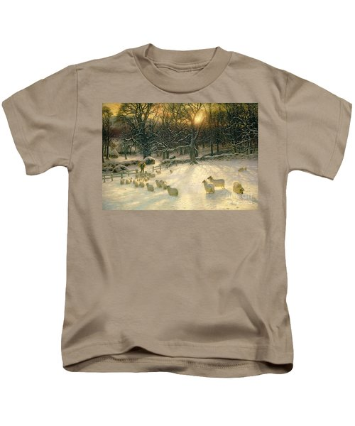 The Shortening Winters Day Is Near A Close Kids T-Shirt