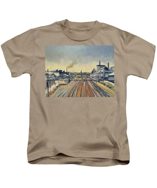 Train Tracks Maastricht Kids T-Shirt