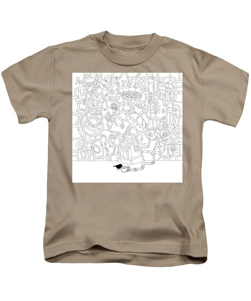 Two Worlds Kids T-Shirt