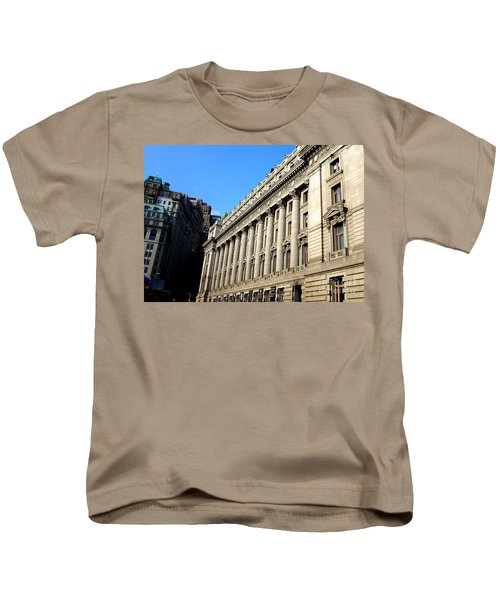 U S Custom House 1 Kids T-Shirt by Randall Weidner