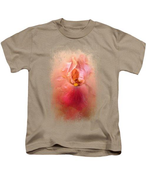 Valentine Iris Kids T-Shirt