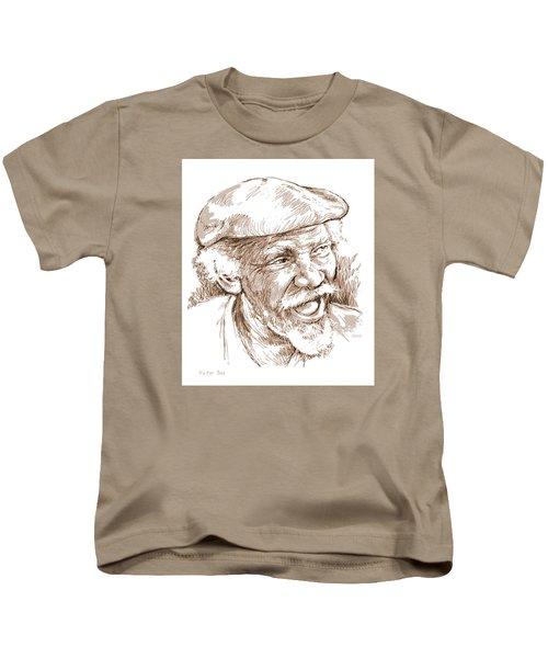 Victor Boa Kids T-Shirt by Greg Joens