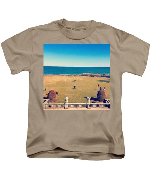 Looking Out From The Gilded Age Kids T-Shirt