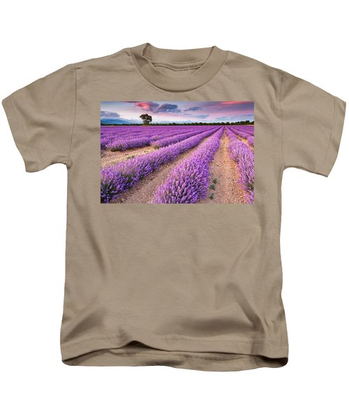 Violet Dreams Kids T-Shirt