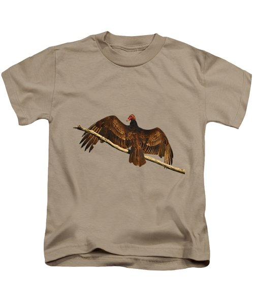 Vivid Vulture .png Kids T-Shirt by Al Powell Photography USA