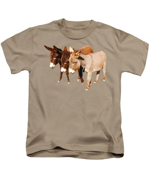 Wild Burro Buddies Kids T-Shirt