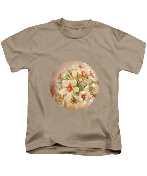 Wild Pear Blossom Kids T-Shirt