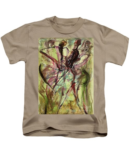 Windy Day Kids T-Shirt by Ikahl Beckford