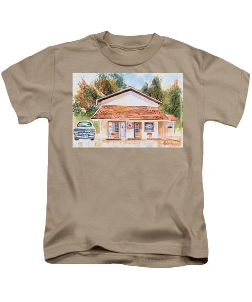 Woodcock Insurance In Watercolor  W406 Kids T-Shirt