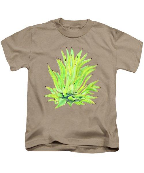 Yellow Octopus Agave Kids T-Shirt