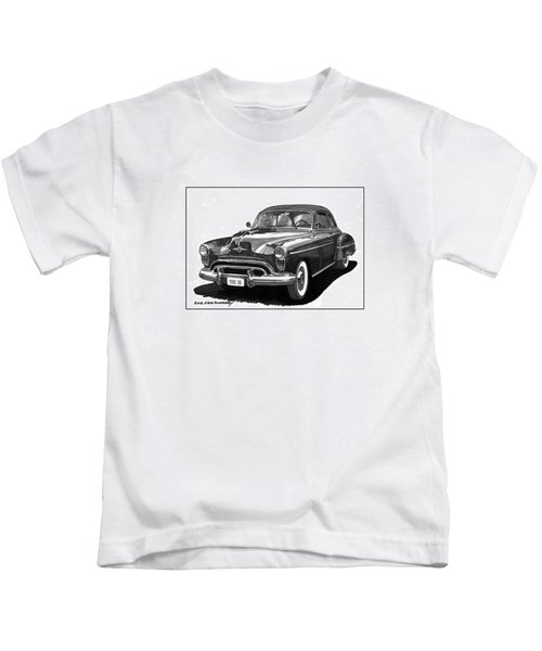 1950 Oldsmobile Rocket 88 Kids T-Shirt