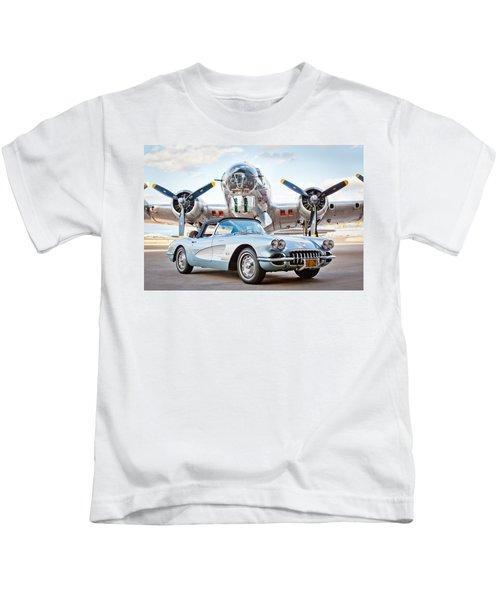 1960 Chevrolet Corvette Kids T-Shirt