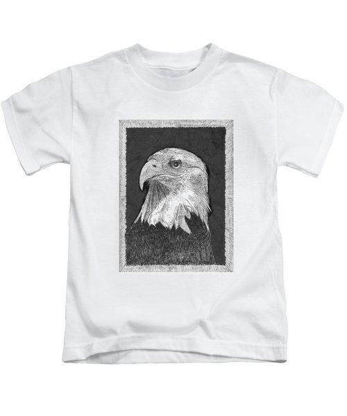 American Bald Eagle Kids T-Shirt