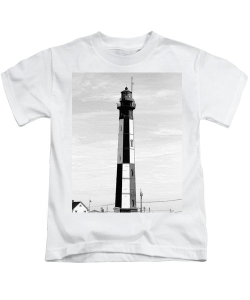 Cape Henry Lighthouse  Kids T-Shirt