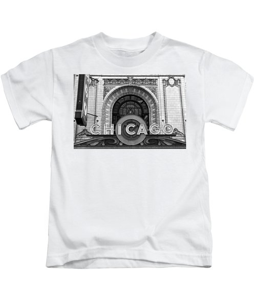 Chicago Theater Marquee Kids T-Shirt