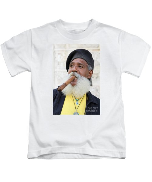 Cigar Man Kids T-Shirt
