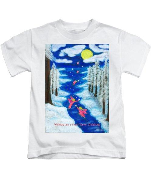 Faery Merry Christmas Kids T-Shirt