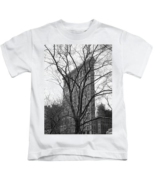 Flat Iron Tree Kids T-Shirt
