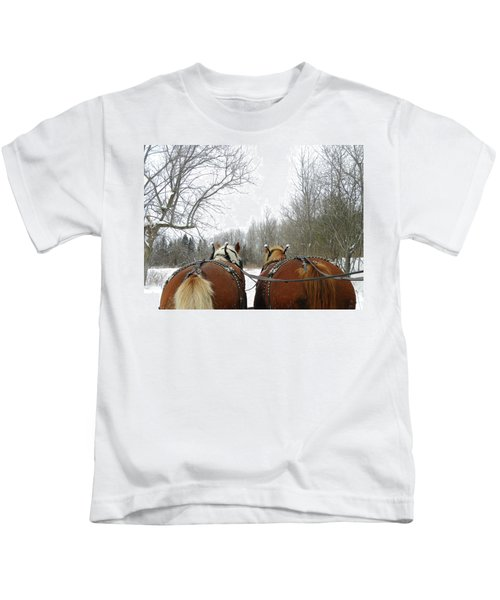 Gee And Haw Kids T-Shirt