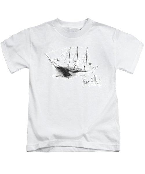 Great Men Sailing Kids T-Shirt