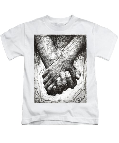 Holding Hands Kids T-Shirt