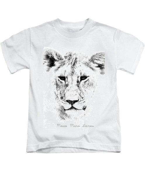 Lion Portrait Kids T-Shirt