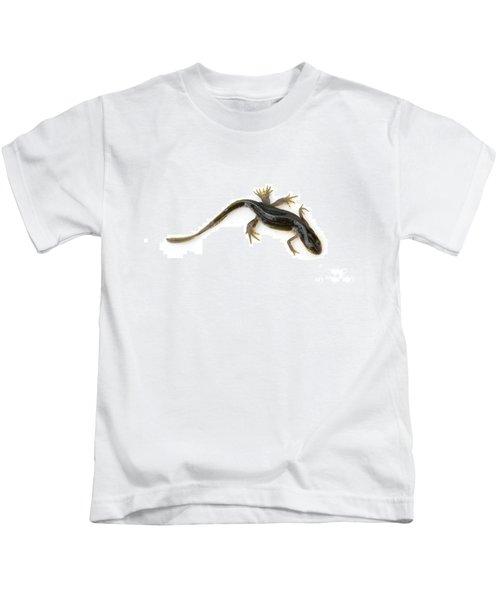 Mutated Eastern Newt Kids T-Shirt