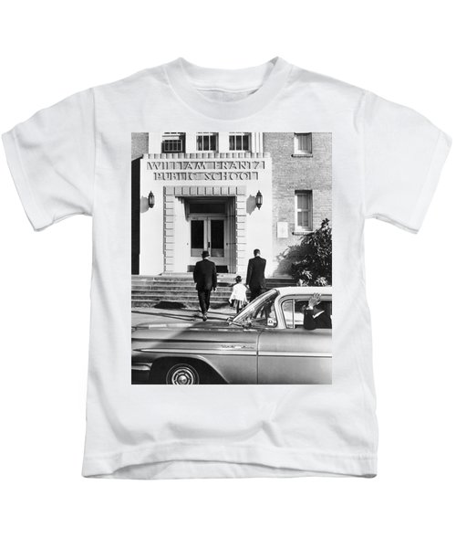 New Orleans School Integration Kids T-Shirt